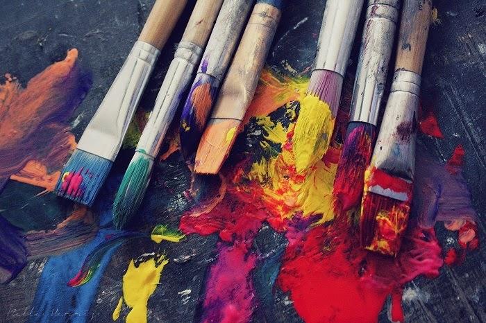 Amber Paint Brushes