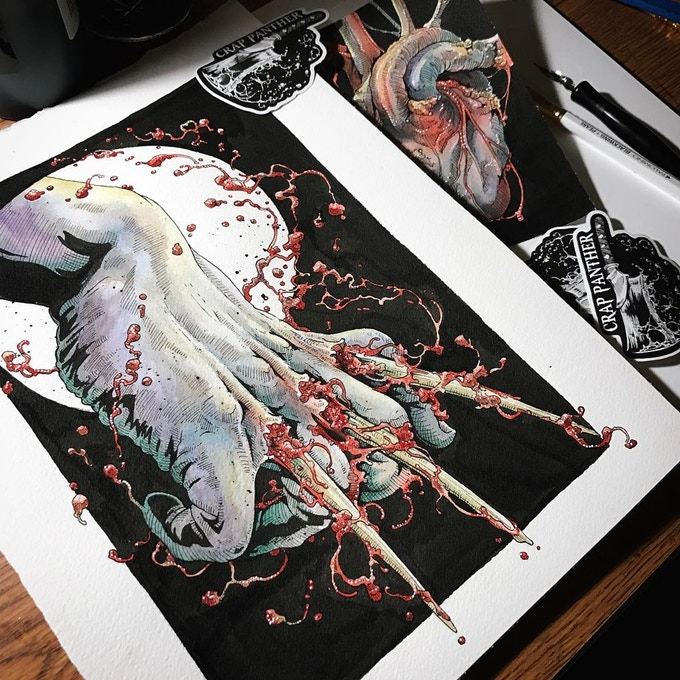 Carrie South Ilustration