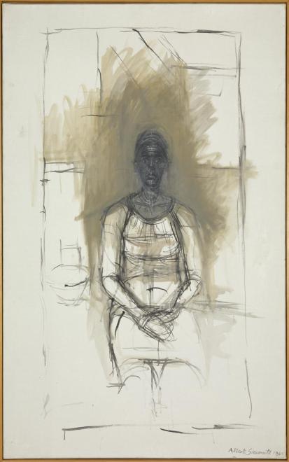 Caroline 1965 by Alberto Giacometti 1901-1966